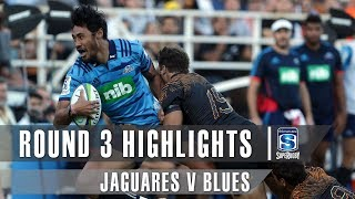 Jaguares v Blues Rd.3 2019 Super rugby video highlights | Super Rugby Video Highlights