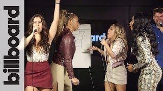 Video Fifth Harmony Pictionary Showdown: Lauren & Dinah vs. Normani & Ally   Billboard MP3, 3GP, MP4, WEBM, AVI, FLV Juli 2018
