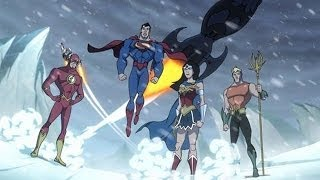 JLA Adventures: Trapped in Time Clip
