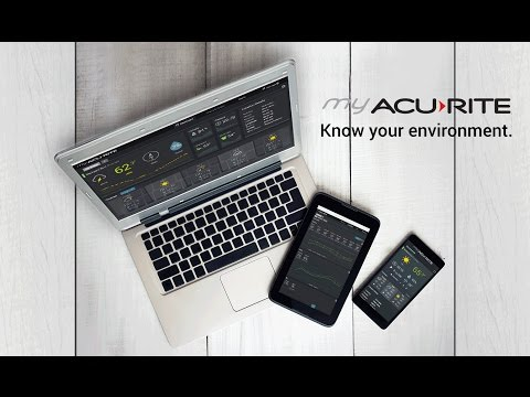 My AcuRite Home Monitoring Systems