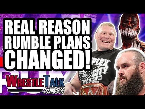 Real Reason Braun Strowman PULLED From WWE Royal Rumble! | WrestleTalk News Jan. 2019