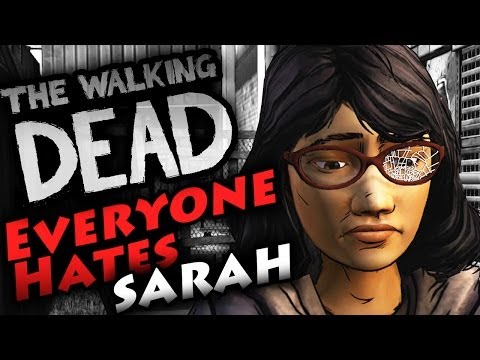 "Walking Dead Season 2 Episode 3 - Bad Choices W/ Sarah ""In Harm's Way"" #Eviltine"