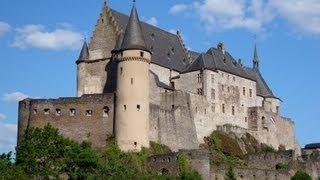 Clervaux Luxembourg  city photos gallery : Ardennes Luxembourg tourism video: Vianden Castle/ Château, Clervaux & Esch sur Sûre