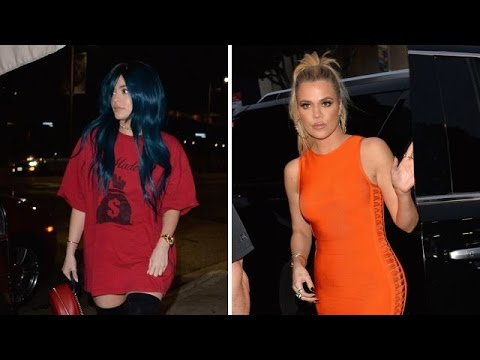 Sexy Sisters Khloe Kardashian And Kylie Jenner Spend The Night On The Town