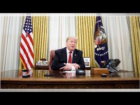 Trump Spent His Sunday Night Hate-Watching Nancy Pelosi's '60 Minutes' Interview