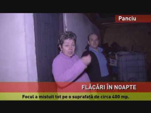 Incendiile au mistuit gospodării în Panciu și Mediaș