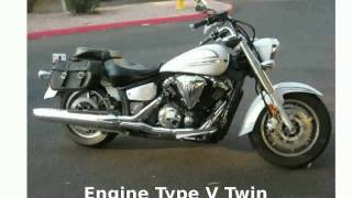 1. 2011 Yamaha V Star 1300 Base - Features & Info