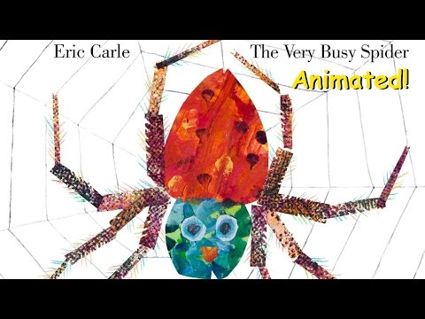 The Very Busy Spider - Animated Children's Book