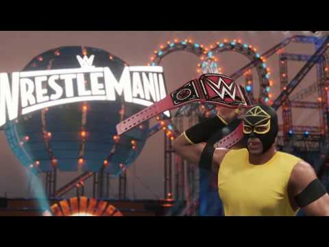 WWE 2K18 - Road to Glory Mode Trailer