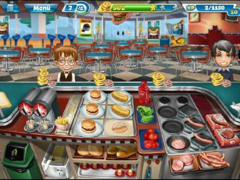 Cooking Fever - Fast Food Court - Level 34 (by Match3news.com)