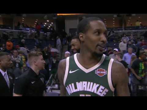 Brandon Jennings' great return to the NBA SOT FULL HL 3/12/18