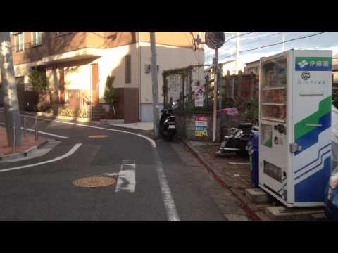 Railway crossing in Mejiro on Seibu ikebukuro line (видео)