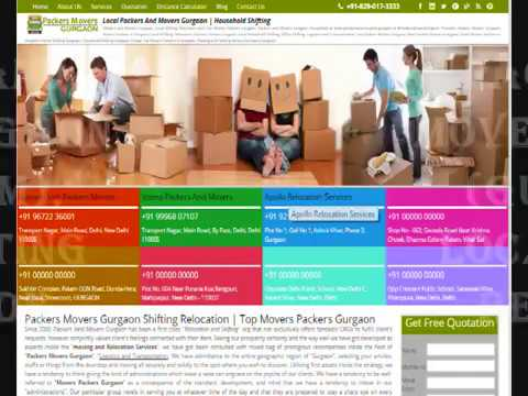 We Provide Best Packers And Movers Gurgaon List for Get Free Best Quotes, Compare Charges,  Save Mon