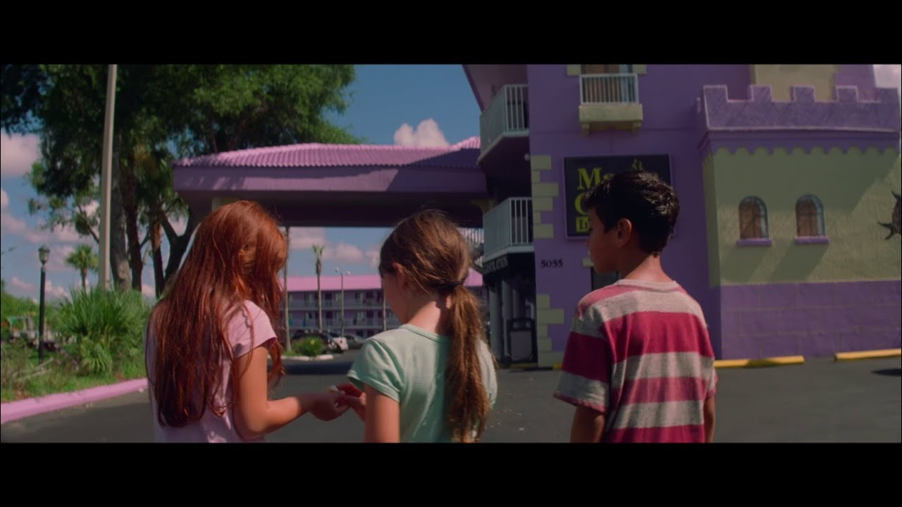 Watch the innocence of Childhood Wonder in Sean Baker's 'The Florida Project' (Clip) with Willem Dafoe