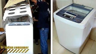 LG 6.2 kg Fully Automatic Top Loading Washing Machine [T72CMG22P] UNBOXING/UNPACKING Flipkart