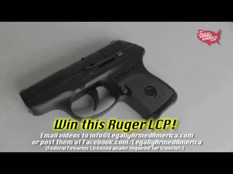 WIN this Ruger LCP .380 handgun!