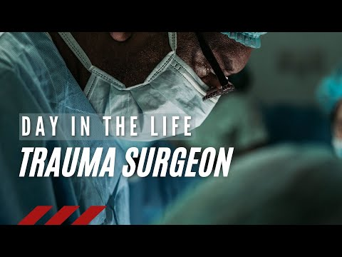 Day in the life of a Trauma Surgeon