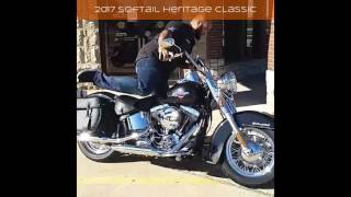 4. 2017 Harley-Davidson Softail Heritage Classic FLSTC Motorcycle