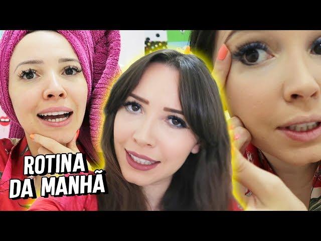 MINHA ROTINA DA MANHÃ - CABELO E MAKE - Taciele Alcolea
