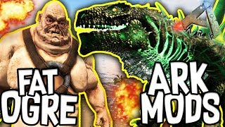 Hello Everybody! Welcome to a new series called Ark: Modded Creations! Today we check out 3 awesome MODS!! The mods we are checking out are Eco's Terriums, GODZILLARK and also Dragonpunk: Mythical Creatures!