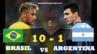 "Video Brasil 10 vs Argentina 1 - ""SIN MESSI NO SOMOS NADA"" - Parodia MP3, 3GP, MP4, WEBM, AVI, FLV Agustus 2018"