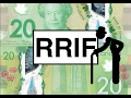 What is a Registered Retirement Income Fund (RRIF)?