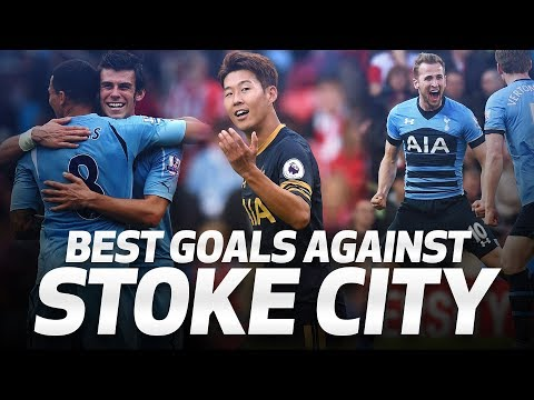 Video: BALE, DEMBELE, KANE, SON | SPURS BEST STRIKES AGAINST STOKE