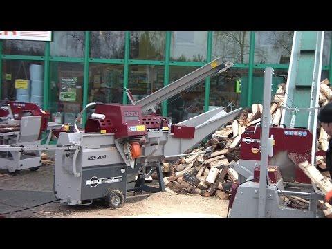 Holzspalter, Wippkreissägen u. mehr von BGU Maschinen auf der Geräteschau für Forsttechnik