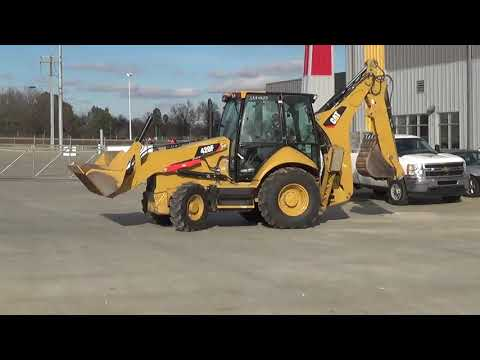 CATERPILLAR BAGGERLADER 420FST equipment video TfbX6Z2kYpg