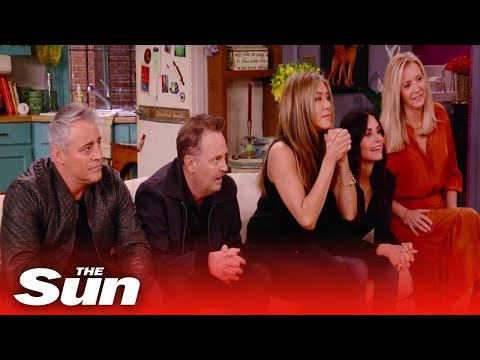 Friends: The Reunion 2021 official trailer shows stars breaking down in tears in moving revisit