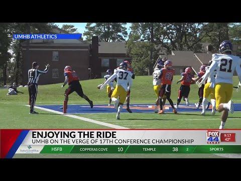 UMHB Football: Enjoying the Ride