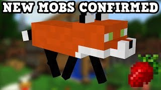 Minecraft Foxes, Pandas & Food Confirmed (TAIGA Update)