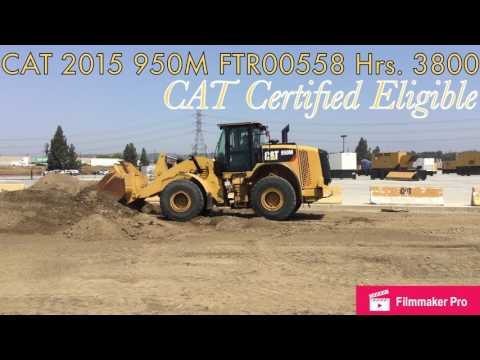 CATERPILLAR CARGADORES DE RUEDAS 950M equipment video Tfgv8JqkuG4