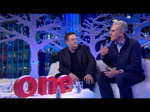 alpha - Alpha's Nicky Gumbel shares a sofa with Johnny Vegas on BBC's 'The One Show'. Broadcast on BBC One, 7:00 PM Mon, 17 Dec 2012 with Matt Baker & Alex Jones Cli...