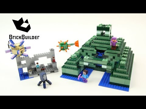 LEGO® 21136 Minecraft : Le monument sous-marin