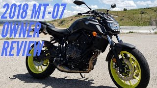 3. 2018 Yamaha MT-07 Owner Review