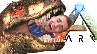 SURVIVRE EN MILIEU DINOSAURESQUE. (ARK Survival Evolved)