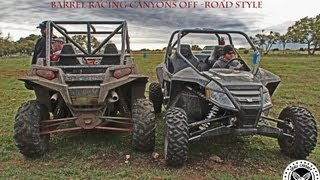 10. Polaris RZR XP 900 VS Arctic Cat WildCat 1000: Barrel Racing Canyons Off-Road Style