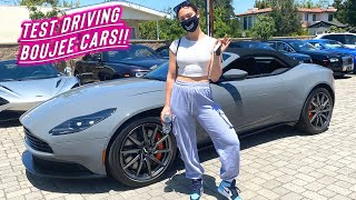 test driving boujee cars + trying glossier products!! by Alisha Marie Vlogs