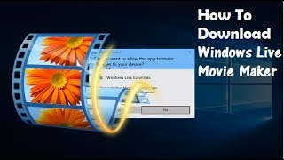 Nonton How To Download Windows Live Movie Maker On Windows 10 8 7 Film Subtitle Indonesia Streaming Movie Download