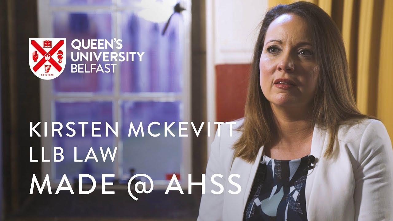 Graduate profile - Kirsten McKevitt, Law