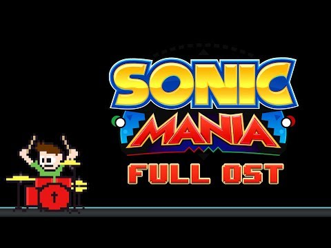 Sonic Mania OST (Drum Cover) -- The8BitDrummer (видео)