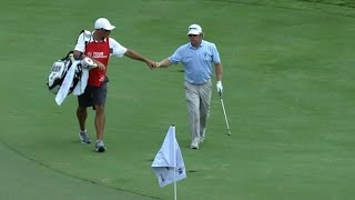 William McGirt scrambles for birdie on No. 12 at the TOUR Championship by PGA TOUR