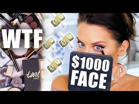 $1,000 MAKEUP TESTED ... WTF   First Impressions