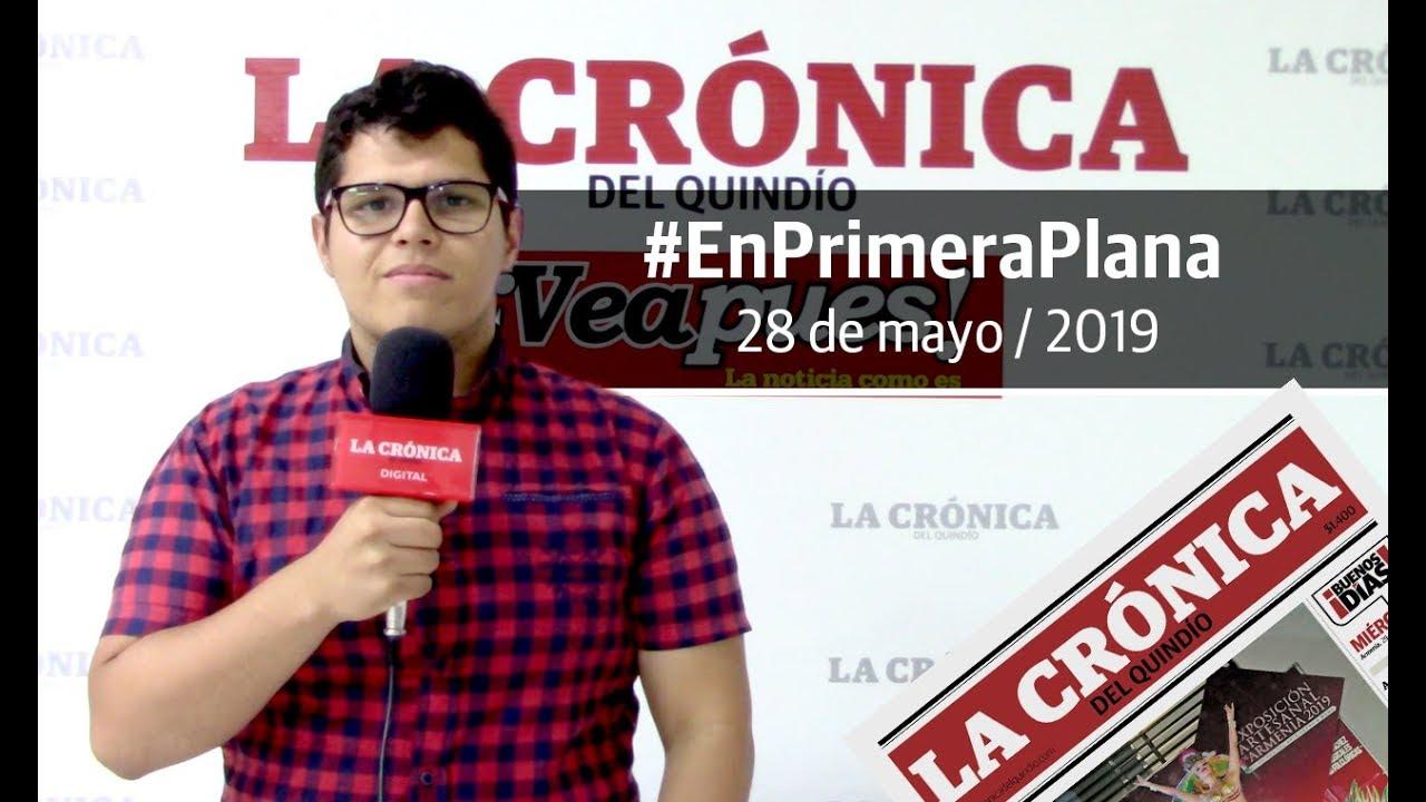 En Primera Plana: lo que será noticia este miércoles 29 de mayo