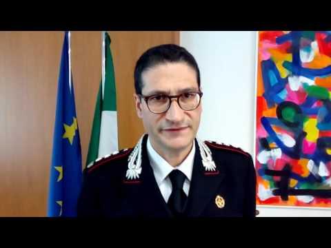 Il comandante dei carabinieri, Biagio Storniolo