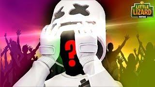 MARSHMELLO *FACE REVEAL* in Fortnite!