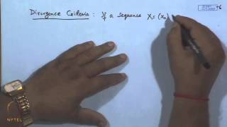 Mod-17 Lec-19 Theorems On Convergent And Divergent Sequences