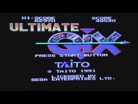 Ultimate Qix Megadrive