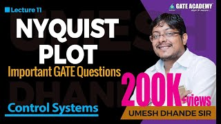 Nyquist Plot | Important GATE Questions | Control Systems